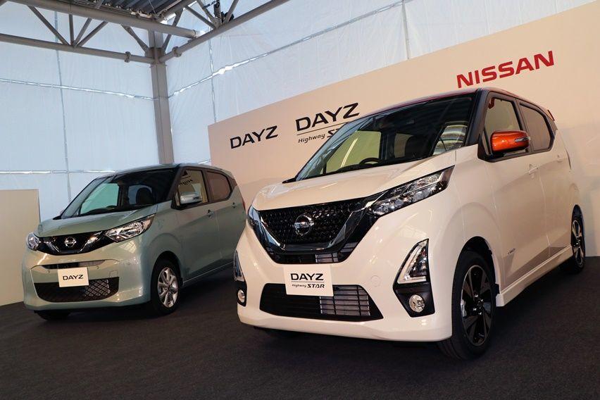 Nissan Mitsubishi keicar