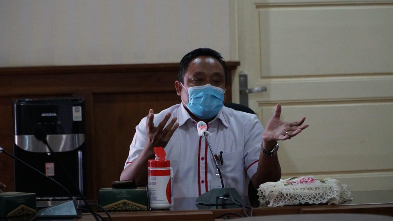 PERPI: Wakil Bupati Pati Saiful Arifin saat gelar pertemuan di Ruang Joyo Kusumo baru-baru ini. (PROKOMPIM PATI FOR LINGKAR JATENG)