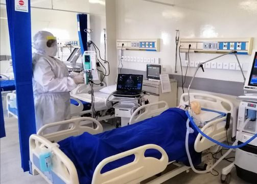 Ilustrasi rumah sakit khusus penanganan pasien virus corona (ANTARA/LINGKAR.CO)