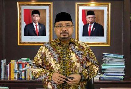 Menteri Agama Yaqut Cholil Qoumas. (ANTARA/LINGKAR.CO)