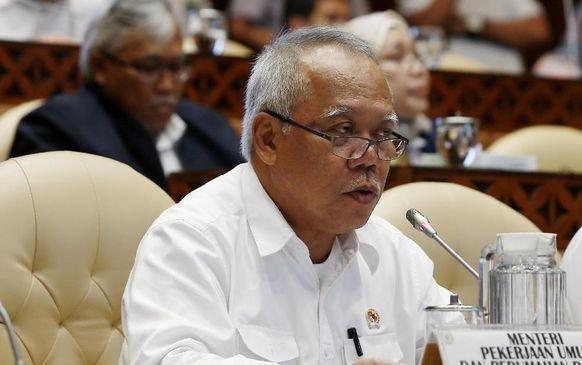 Menteri PUPR Basuki Hadimuljono. (ANTARA/LINGKAR.CO)