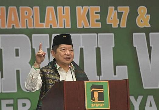Ketua Umum PPP terpilih Soeharso Monoarfa.(ANTARA/LINGKAR.CO)