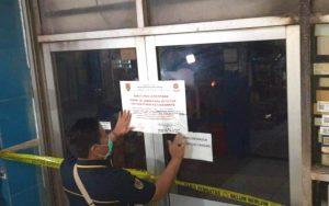 Langgar PPKM, Tiga Tempat Usaha di Semarang Disegel Satpol PP