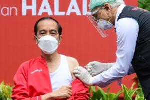 Jokowi Disuntik Vaksin Covid-19 Dosis Kedua Hari Ini