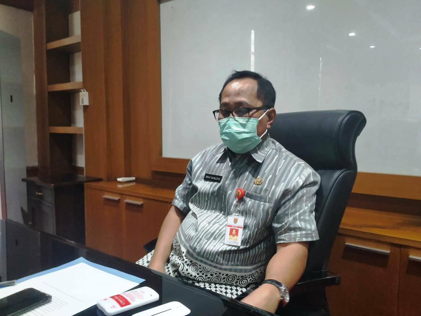 Sekda Kota Semarang, Iswar Aminuddin. (RISCA KRISDAYANTI/LINGKAR.CO)