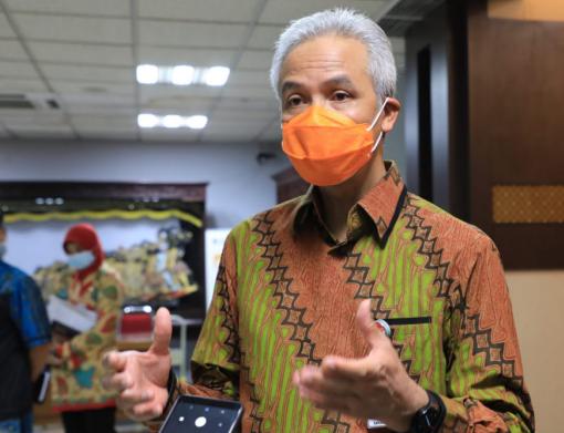 Gubernur Jawa Tengah Ganjar Pranowo. (DOK. LINGKAR.CO)
