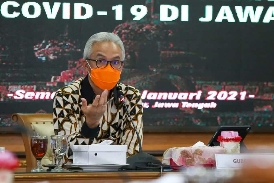 Gubernur JawaTengah Ganjar Pranowo. (DOK. LINGKAR.CO)