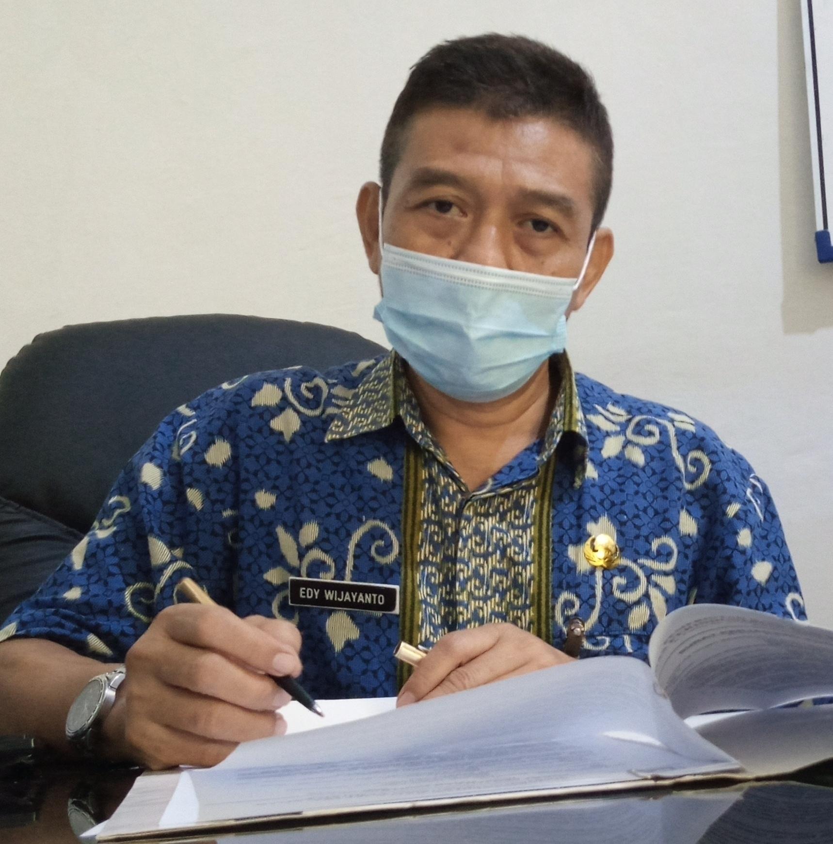 Sekdin Disperindag Jepara Edy Wijayanto. (IBNU MUNTAHA/LINGKAR.CO)