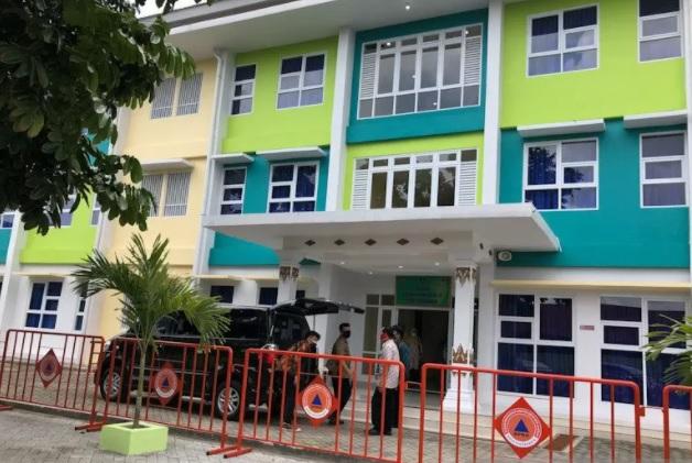 Shelter penanganan COVID-19 Yogyakarta di Rumah Susun Sewa Tegalrejo, belum lama ini. (ANTARA/LINGKAR.CO)