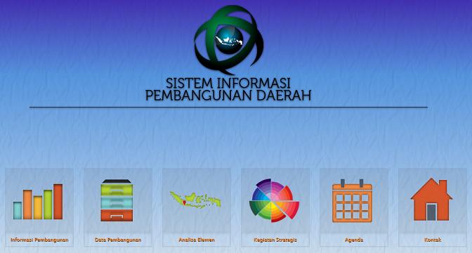 Tangkapan layar laman web SIPD. (DOK. LINGKAR.CO)