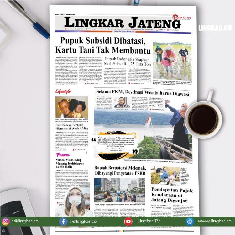 Koran Digital Lingkar Jateng Edisi Jumat 8 Januari 2021 ...