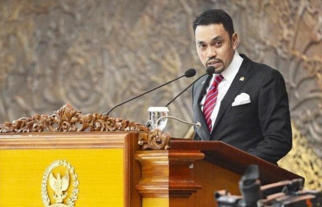 Wakil Ketua Komisi III DPR RI dari Fraksi Partai NasDem, Ahmad Sahroni. (ANTARA/LINGKAR.CO)
