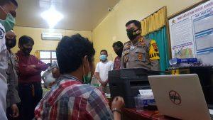 Transaksi di Terminal, Seorang Kurir Sabu asal Semarang, Dibekuk Sat Res Narkoba Polres Grobogan