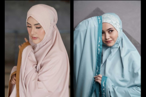 Mukena Siti Khadijah Khas Negeri Jiran yang Unik nan Klasik
