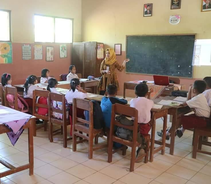 SIAPKAN: Pemerintah Kabupaten Sragen mulai mempersiapkan Pendidikan Tatap Muka (PTM) April mendatang. (MUKHTARUL HAFID/LINGKAR.CO)