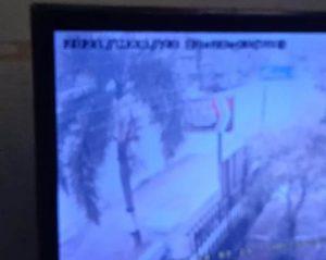 CCTV Masjid Rekam Detik-Detik Kecelakaan Bus PO. Haryanto dan Motor di Karanganyar