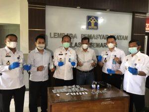 Petugas Lapas Semarang Gagalkan Penyelundupan Psikotropika