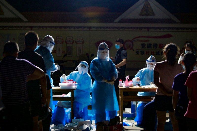LAPORAN: Ditemukan lebih banyak kasus Covid-19 di Kota Ruili, China yang lokasinya berbatasan dengan Myanmar. (ANTARA/LINGKAR.CO)