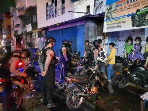 Tim Sparta Polresta Surakarta Tindak 5 Pengendara Knalpot Brong