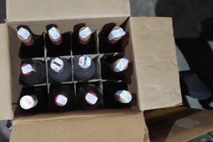 Ratusan Botol Minuman Keras Diamankan Bea Cukai Malang