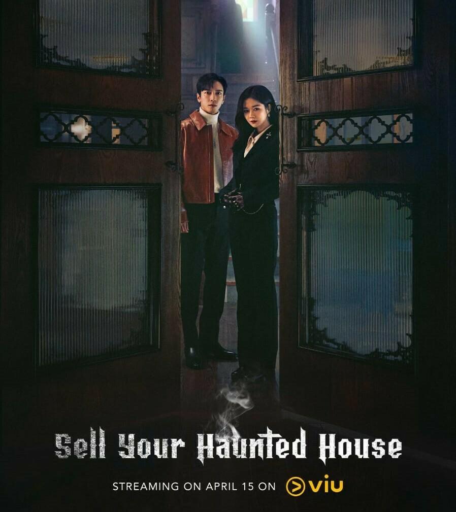 RILIS: Serial drama Korea Selatan, Sell Your Haunted House diperankan oleh Yonghwa CNBLUE dan Jung Nara. (ISTIMEWA/LINGKAR.CO)