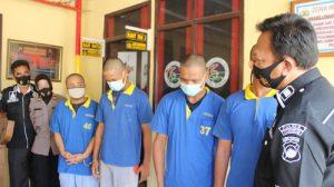Terjerat Narkoba, 4 Warga Demak Dibekuk Polisi Grobogan
