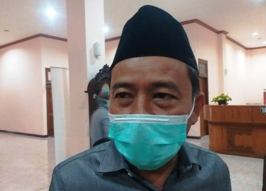 Ketua Komisi A DPRD Pati Bambang Susilo (MIFTAHUS SALAM/LINGKAR)