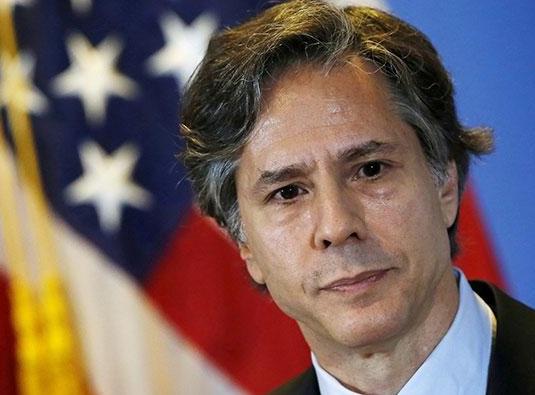 Menteri Luar Negeri Amerika Serikat Antony Blinken (ISTIMEWA/LINGKAR)