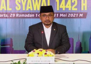 Pemerintah Tetapkan Idul Fitri 1442 H Jatuh pada Kamis 13 Mei