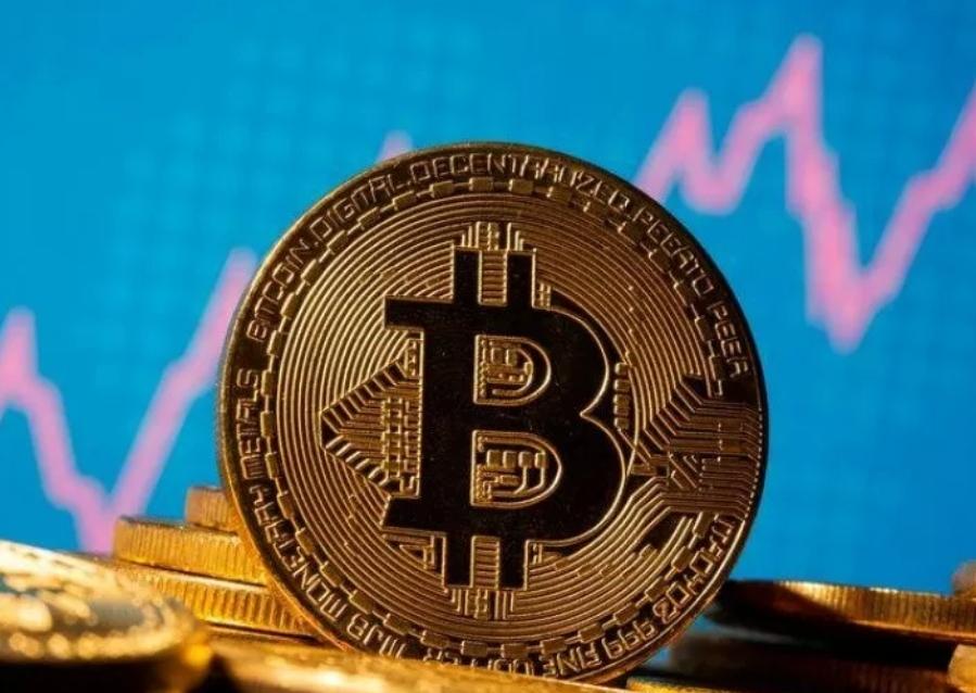 Ilustrasi mata uang crypto Bitcoin.(ANTARA/LINGKAR)