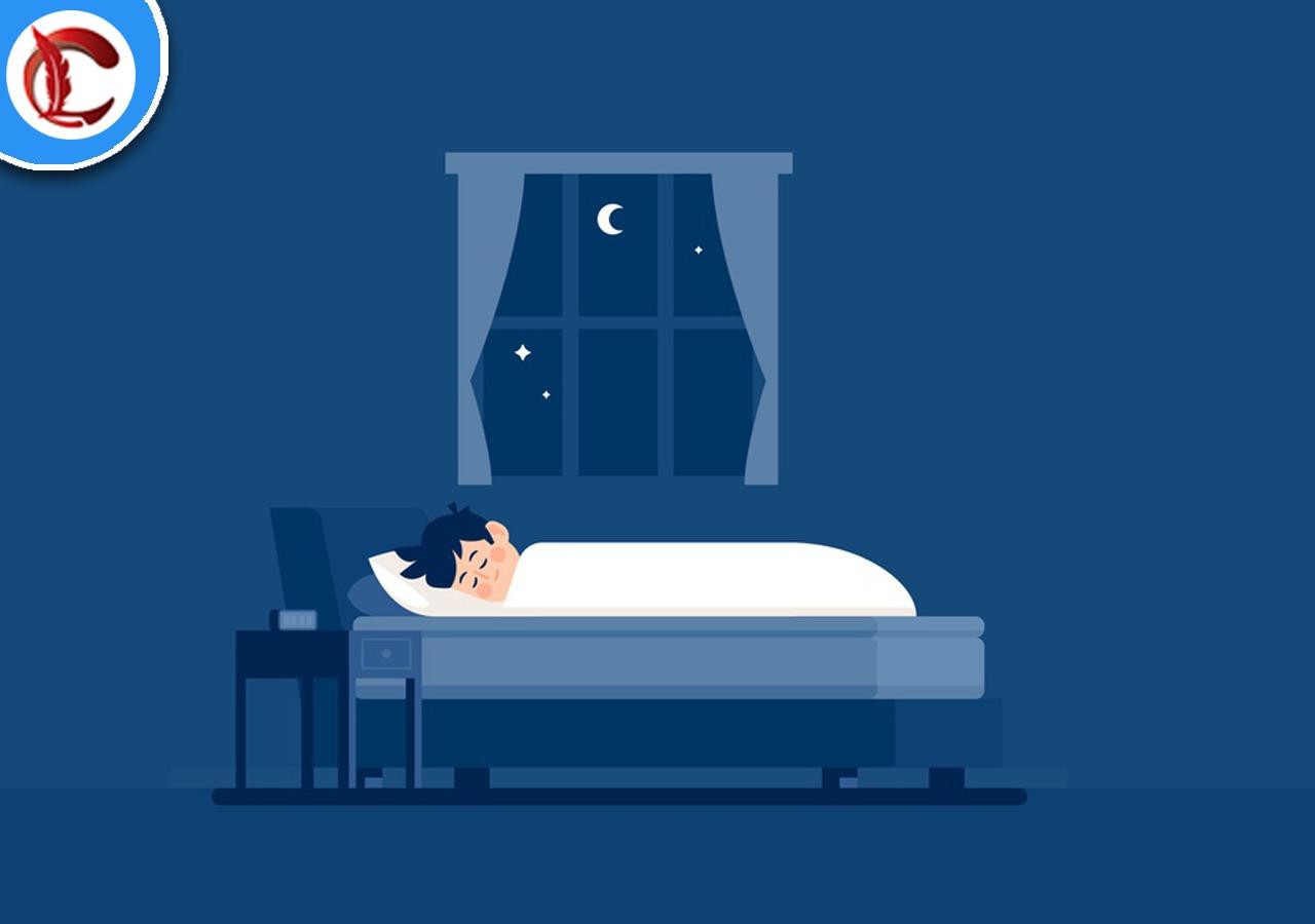 ILUSTRASI: Manfaat mematikan lampu saat tidur. (ISTIMEWA/LINGKAR.CO)