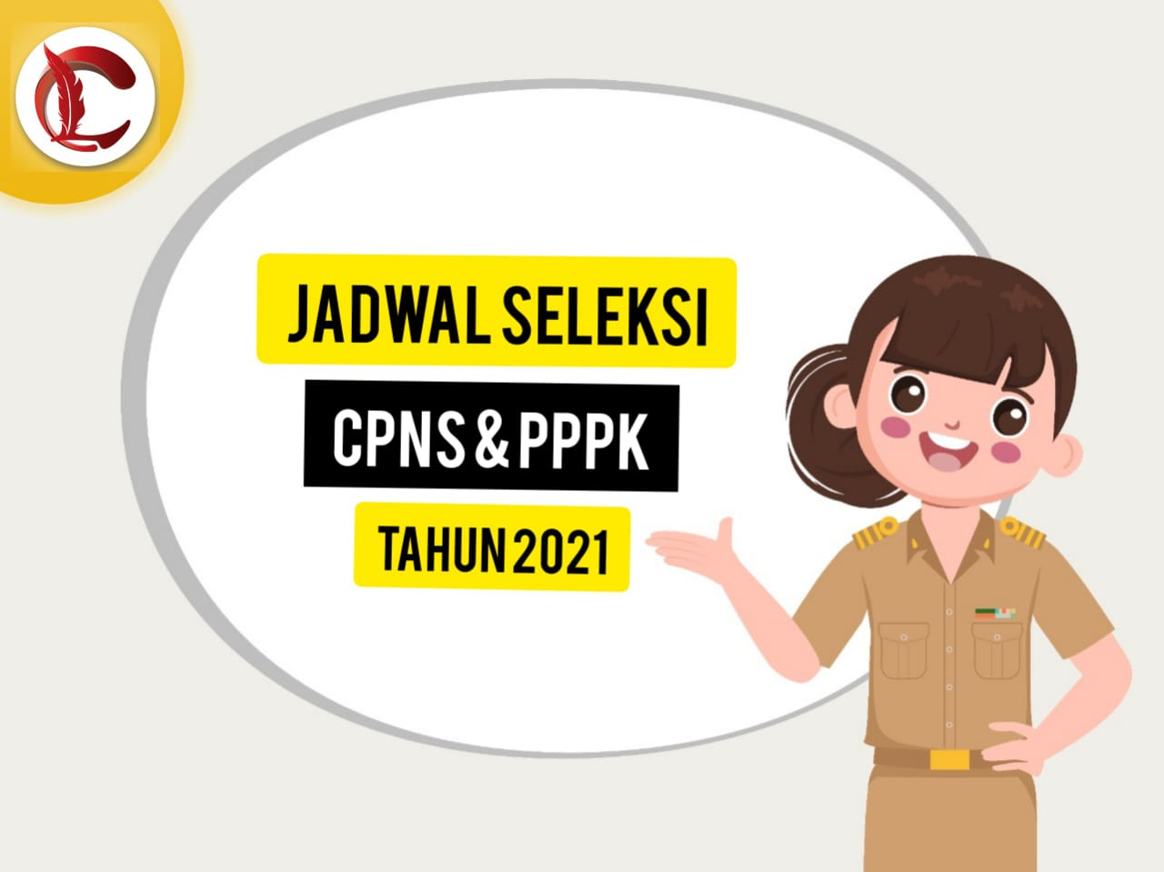 ILUSTRASI: Jadwal seleksi pendaftaran Calon Pegawai Negeri Sipil (CPNS) dan Pegawai Pemerintah dengan Perjanjian Kerja (PPPK) tahun 2021. (ISTIMEWA/LINGKAR.CO)