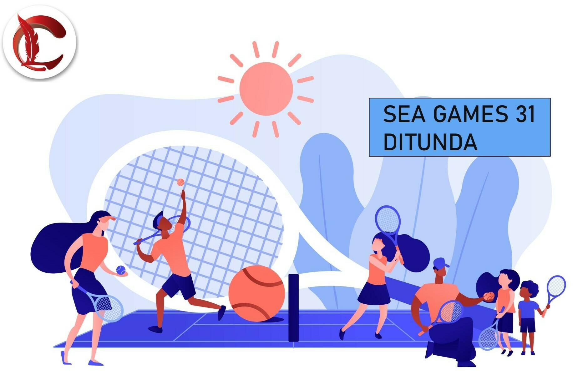 ILUSTRASI: Pesta olahraga Asia Tenggara SEA Games 31 di Vietnam ditunda hingga tahun depan. (ISTIMEWA/LINGKAR.CO)