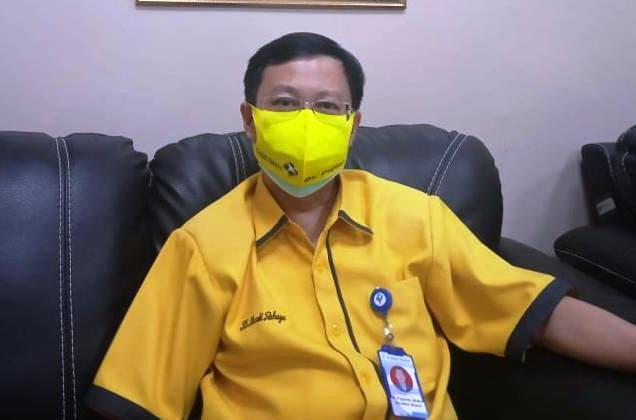 MENJELASKAN: Direktur Utama Rumah Sakit Mardi Rahayu Kudus, Dr. Pujianto. (ADITIA ARDIAN/LINGKAR)