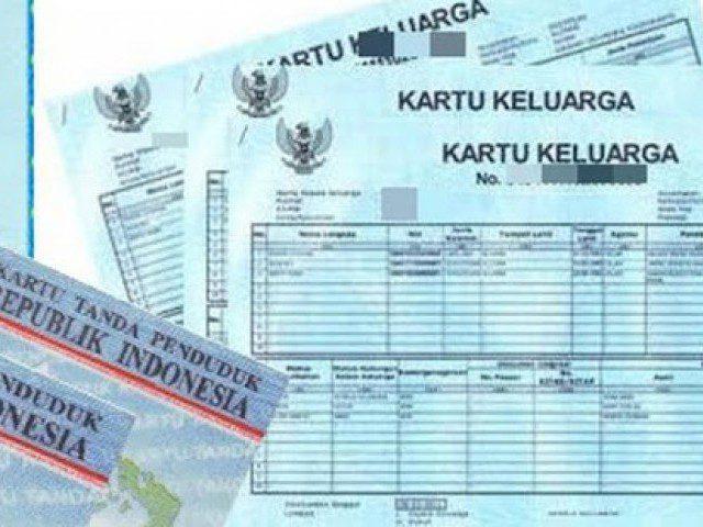 ILUSTRASI: Berkas Kependudukan berupa Kartu Keluarga (KK). (ISTIMEWA/LINGKAR.CO)