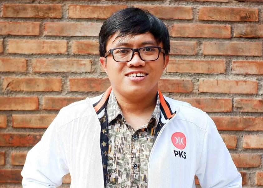 Anggota Komisi A Dewan Perwakilan Rakyat (DPRD) Kabupaten Bantul Fraksi Partai Keadilan Sejahtera, Sigit Nursyam Priyanto, S.Si. MUHAMMAD NURSEHA/LINGKAR.CO