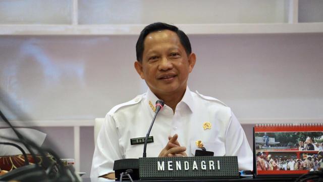 Menteri Dalam Negeri, Tito Karnavian. ISTIMEWA