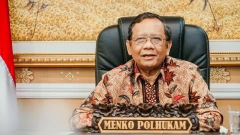 Menko Polhukam, Mahfud MD. FOTO: Istimewa/Lingkar.co