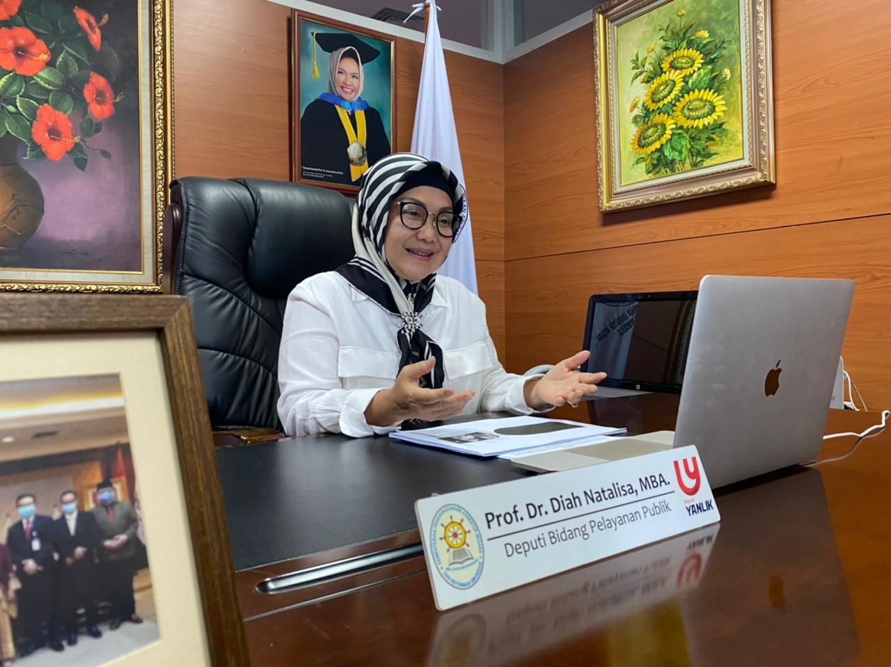 Deputi Bidang Pelayanan Publik Kemenpan RB, Diah Natalisa. FOTO: Dok. Kemenpan RB/Lingkar.co