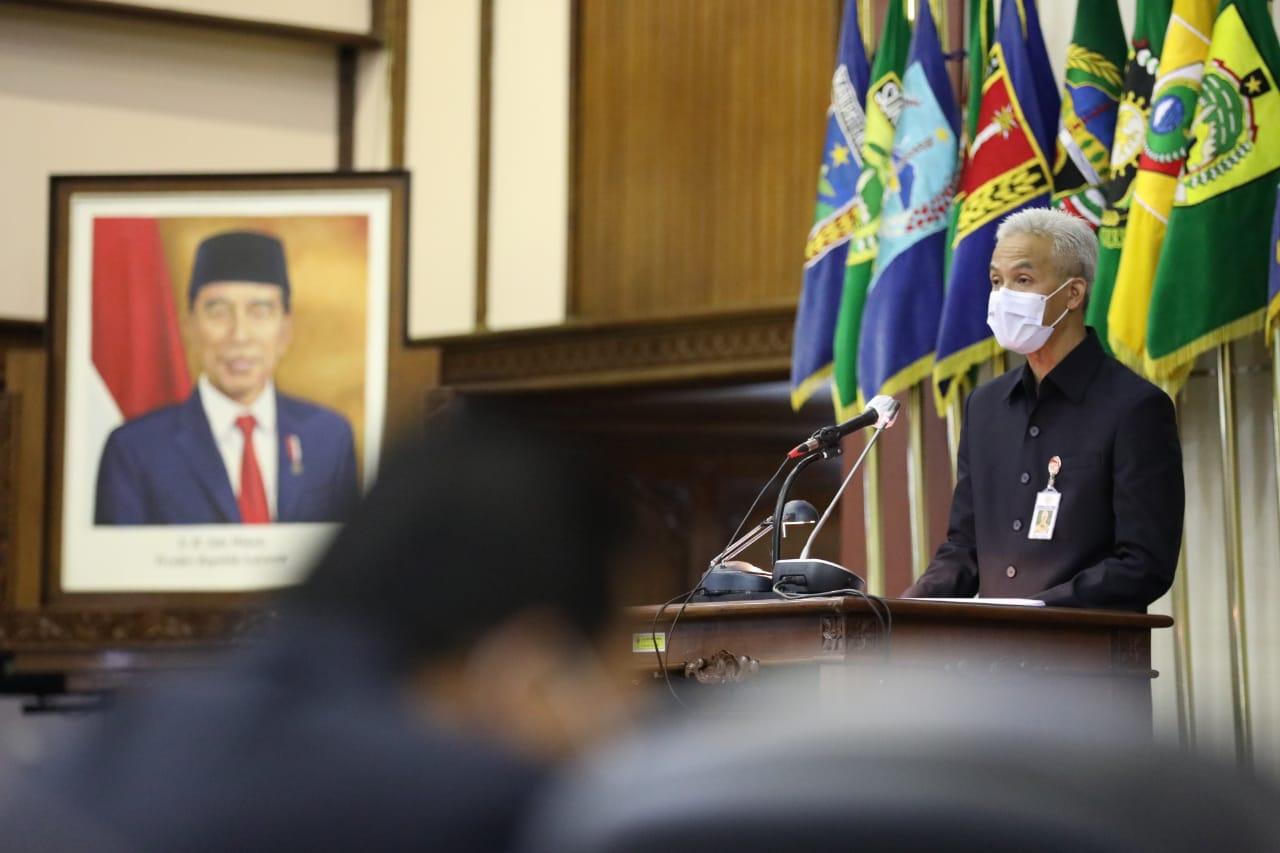 Gubernur Jawa Tengah, Ganjar Pranowo. FOTO: Humas/Lingkar.co