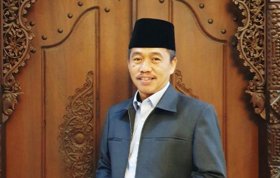 Calon Ketua PCNU Kota Semarang, Pengasuh Ponpes As-Salafy Al-Asror Semarang, KH. Almamnuhin Kholid (Gus Nuhin) sekaligus Rois Syuriyah MWC NU Gunungpati. MUHAMMAD NURSEHA/LINGKAR.CO