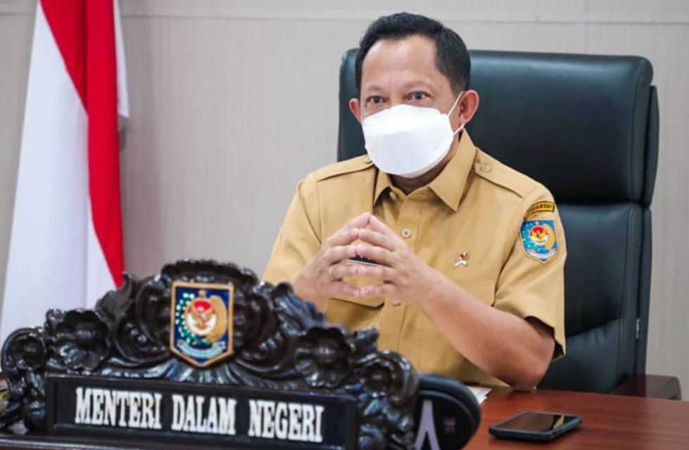 Menteri Dalam Negeri (Mendagri), Tito Karnavian, mengeluargan instruksi mendagri (Inmendagri) terbaru Minggu (25/7/2021) malam. FOTO: Instagram @titokarnavian/LIngkar.co