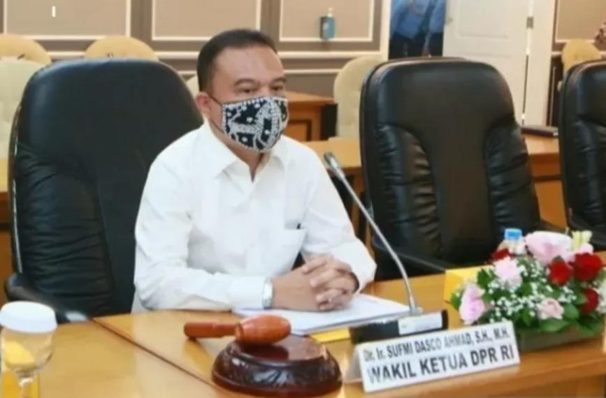 Wakil Ketua DPR RI, Sufmi Dasco Ahmad. FOTO: Ist/Lingkar.co