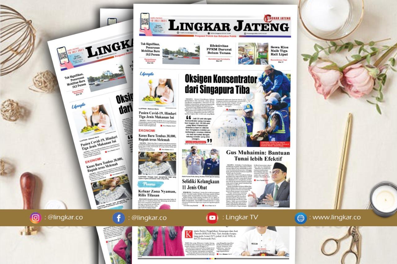 Koran Digital Lingkar Edisi Sabtu 10 Juli 2021