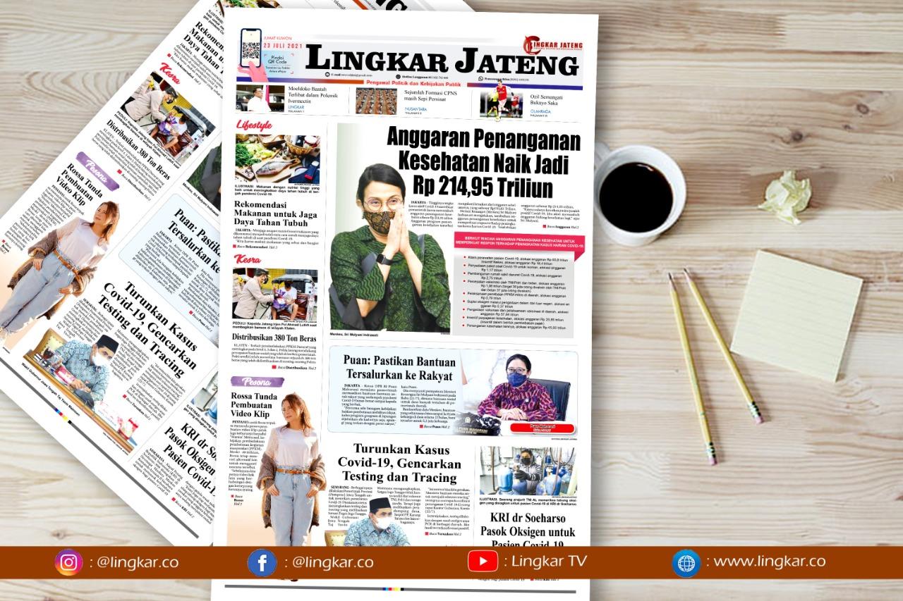 Koran Digital Lingkar Edisi jumat 23 Juli 2021