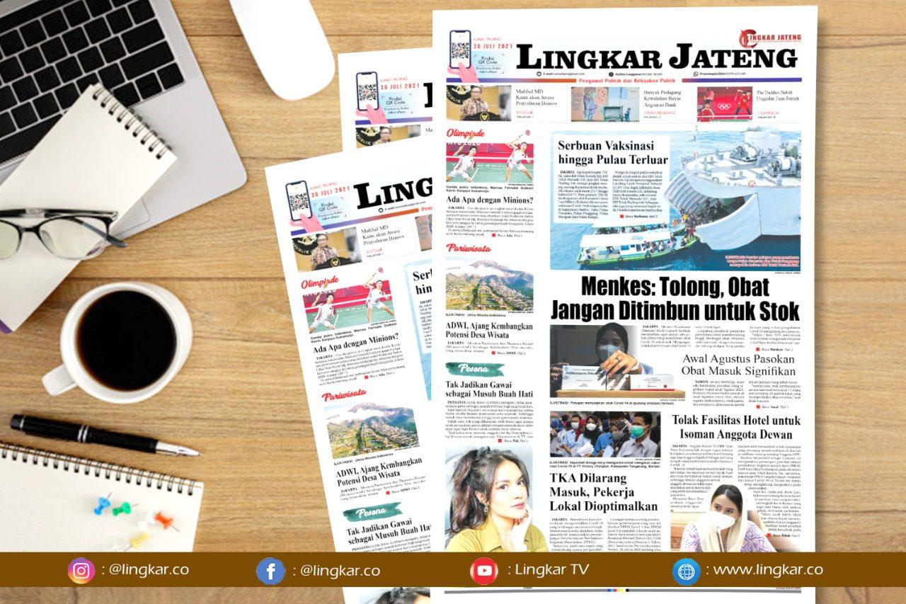 Koran Digital Lingkar Edisi Jumat 30 Juli 2021
