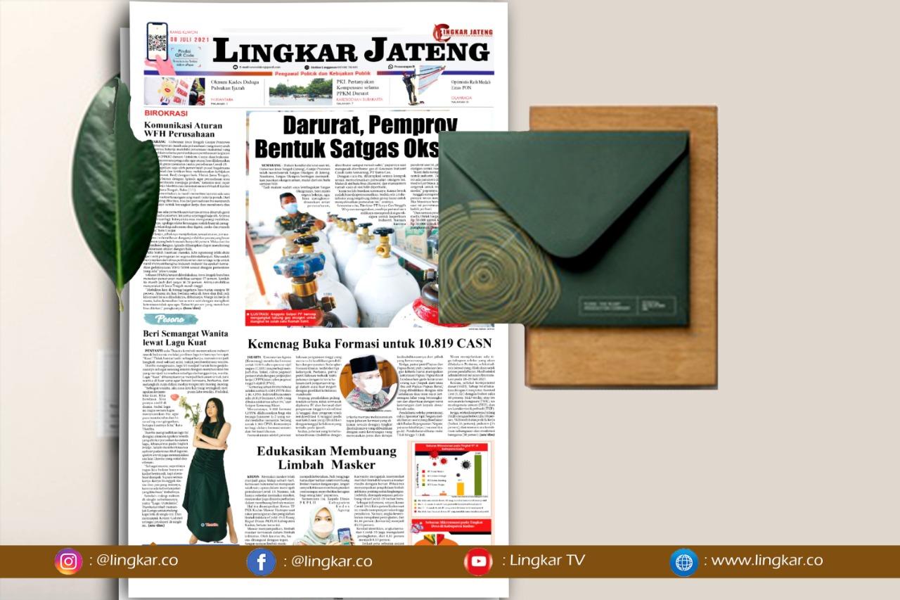 Koran Digital Lingkar Edisi Kamis 08 Juli 2021