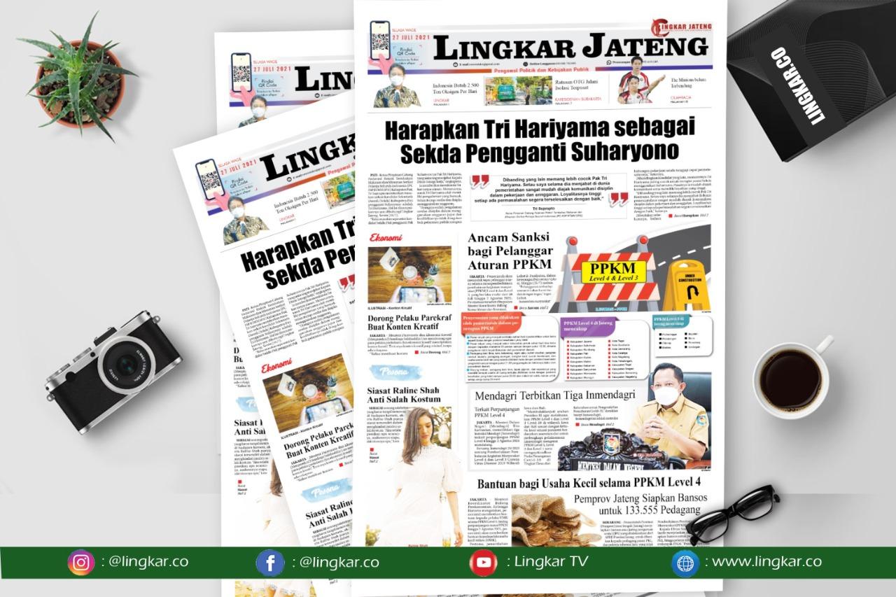 Koran Digital Lingkar Edisi Selasa 27 Juli 2021