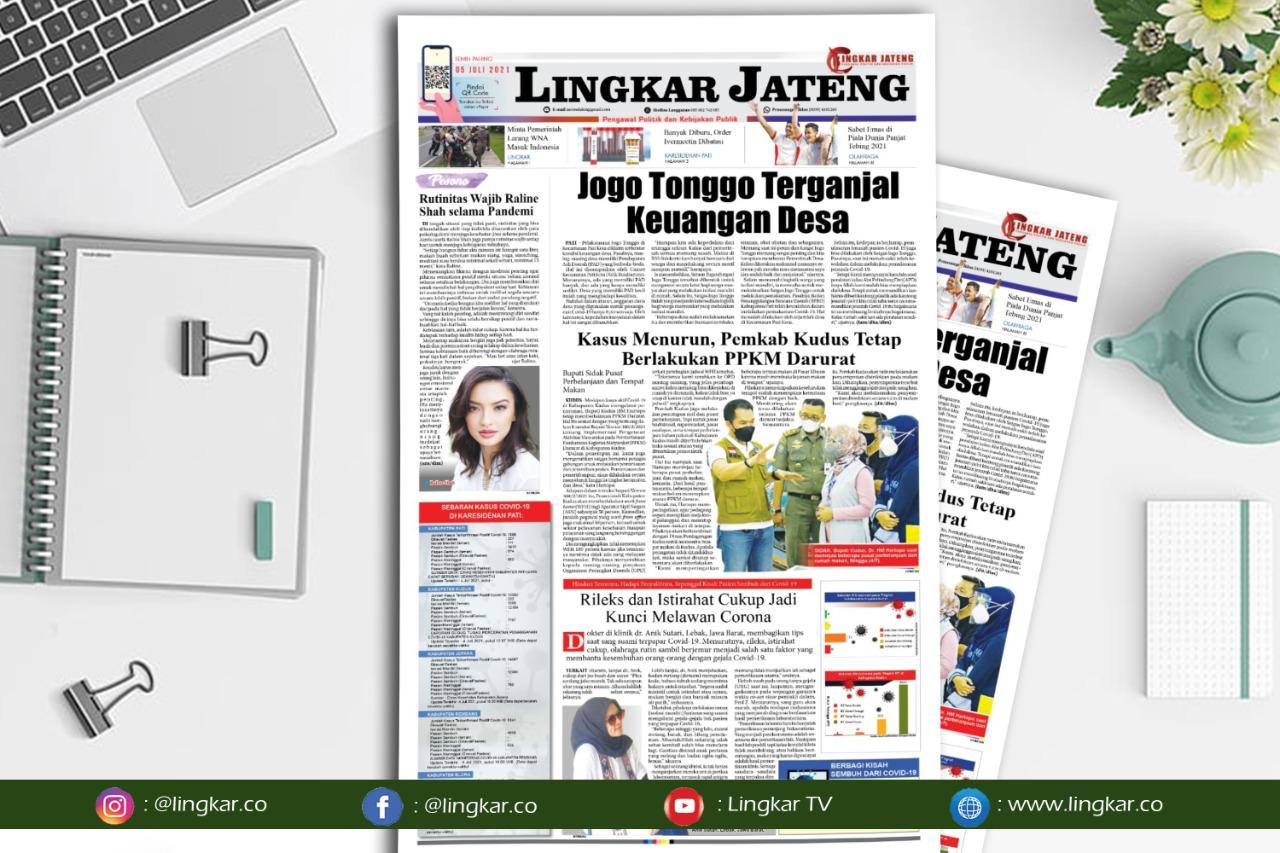 Koran Digital Lingkar Edisi Senin 05 Juli 2021