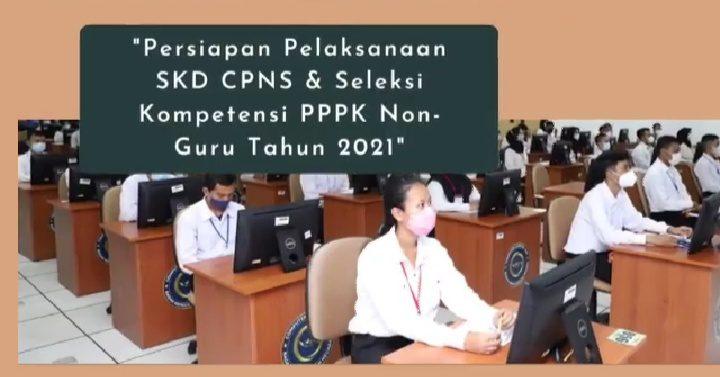 SIAP: BKN siap menggelar SKD calon aparatur sipil negara (CASN) pada 2 September 2021. (ISTIMEWA/LINGKAR.CO)